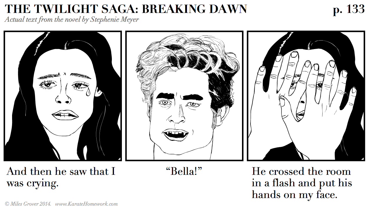 A BRIEF PASSAGE FROM TWILIGHT: BREAKING DAWN ILLUSTRATED