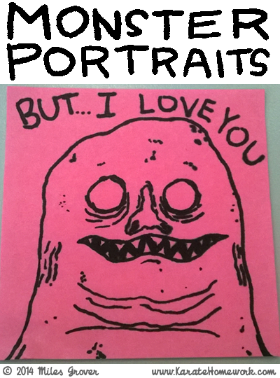 MONSTER PORTRAITS: 'BUT... I LOVE YOU'